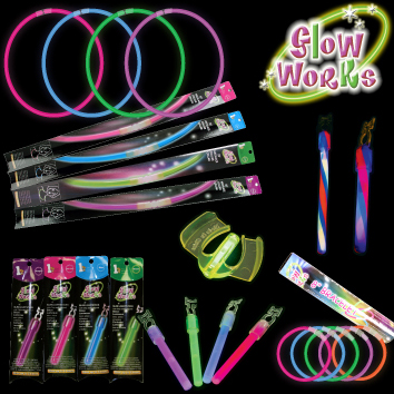 Toy Network has tons of glow items!