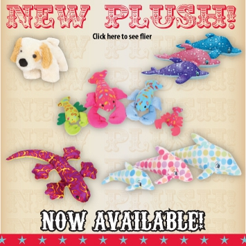 Toy Network's New 2012 Plush line is available